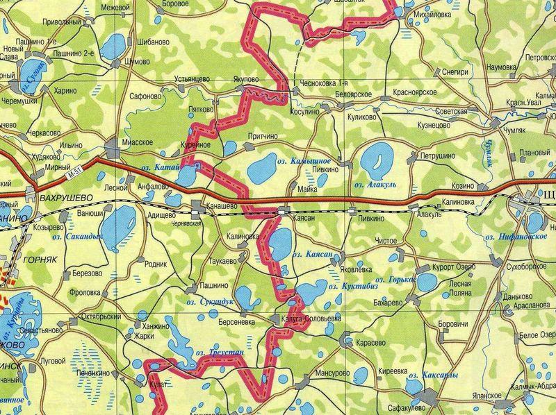 скачать карту озер чел¤бинской области - фото 5